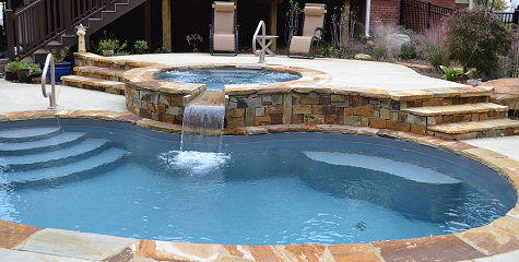 Inground Saltwater Pool Designs landscaping ideas paradise pools to build premier luxury fiberglass plunge gunite inground pictures of small pool Jackies Pools Spas Inground Swimming Pool Installation In Chickamauga Rock Spring And Lafayette Area