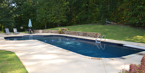 Jackies Pools Spas Inground Swimming Pool Installation In